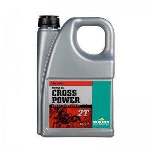 MOTOREX : 4 Litres huile 100% SYNTH. pour moteur 2 TEMPS