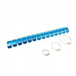 Protection de pot ou collecteur d'echappement couleur bleue