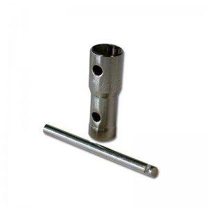 Clé à bougie 16, 18, 21mm Longueur 72 mm