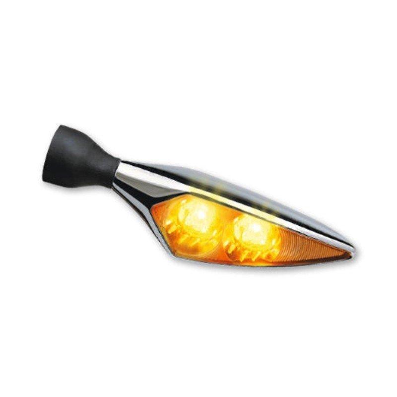 CLIGNOTANT NOIR LED MICRO RHOMBUS EXTREME