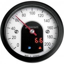 COMPTEUR MOTOSCOPE TINY BLACK 49mm