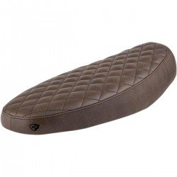 SELLE BRITISH CUSTOMS SLAMMER MARRON DIAMOND POUR TRIUMPH