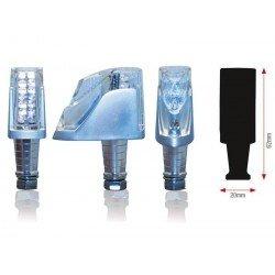 CLIGNOTANTS H20 LEDS ALU