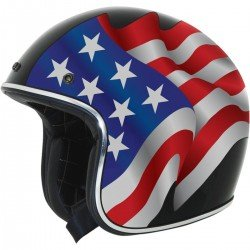 CASQUE AFX FX 76 FLAGS FREEDOM/NOIR