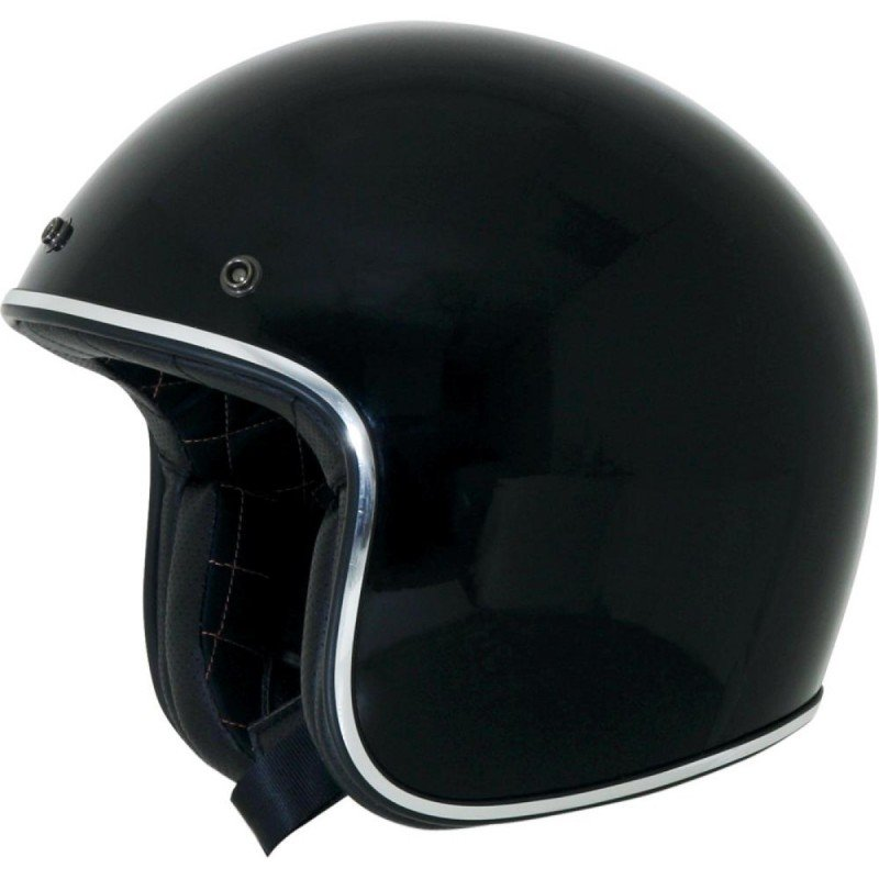 CASQUE AFX FX 76 MULTI & SOLID GLOSS NOIR CHROME