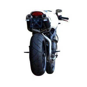 SPARK LICENSE PLATE HOLDER S/S BLACK DUCATI MONSTER 1100 EVO