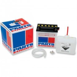PARTS EUROPE BATTERIES BATTERY CONVENTIONAL 12V 7 AH 70A 2.2 KG 134.94 MM X 76.2 MM X 133.35 MM WHITE