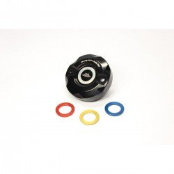 GILLES TOOLING COVER BRAKE FLUID RESERVOIR BLACK/MULTI COLORED
