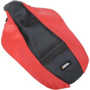 MOOSE RACING HARD-PARTS STANDARD SEAT COVER RED/BLACK