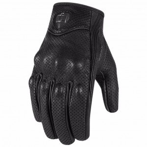 GANTS ICON PURSUIT TOUCHSCREEN (CUIR PERFORE)