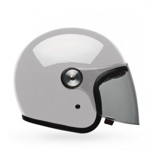 CASQUE BELL RIOT SOLID BLANC