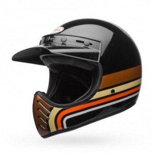Casque BELL Moto-3 Stripes Black/Orange