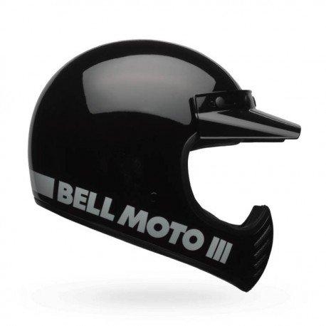 Casque BELL Moto-3 Classic noir - older racer eacd4e65e083