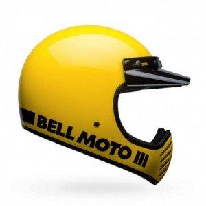Casque BELL Moto-3 Classic jaune