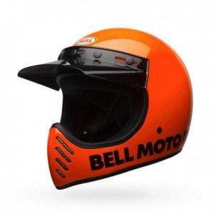 Casque BELL Moto-3 Classic orange