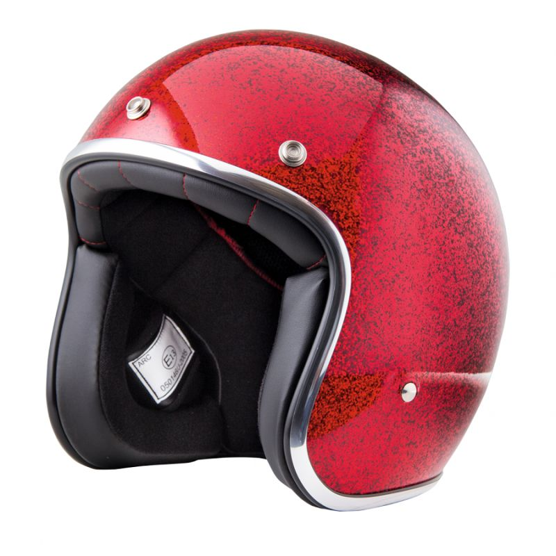 CASQUE STORMER PEARL PAILLETTE ROUGE