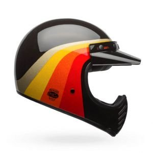 CASQUE BELL Moto-3 Chemical Candy noir/or