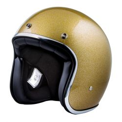 CASQUE STORMER PEARL PAILLETTE GOLD