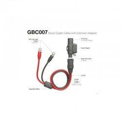 Câble rallonge NOCO Booster Eyelet  SAE 50 cm