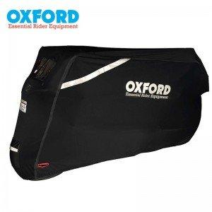 Housse de protection extérieur OXFORD Protex  Stretch noir taille M