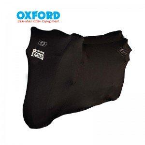 Housse de protection intérieur OXFORD Protex  Stretch noir taille M