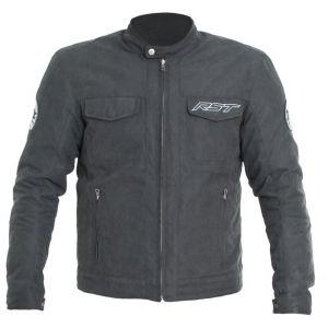 Veste RST IOM TT Crosby textile mi-saison charcoal homme