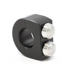 COMMODO MOTOGADGET NOIR M-SWITCH 2 bouton diamètre 25.4mm
