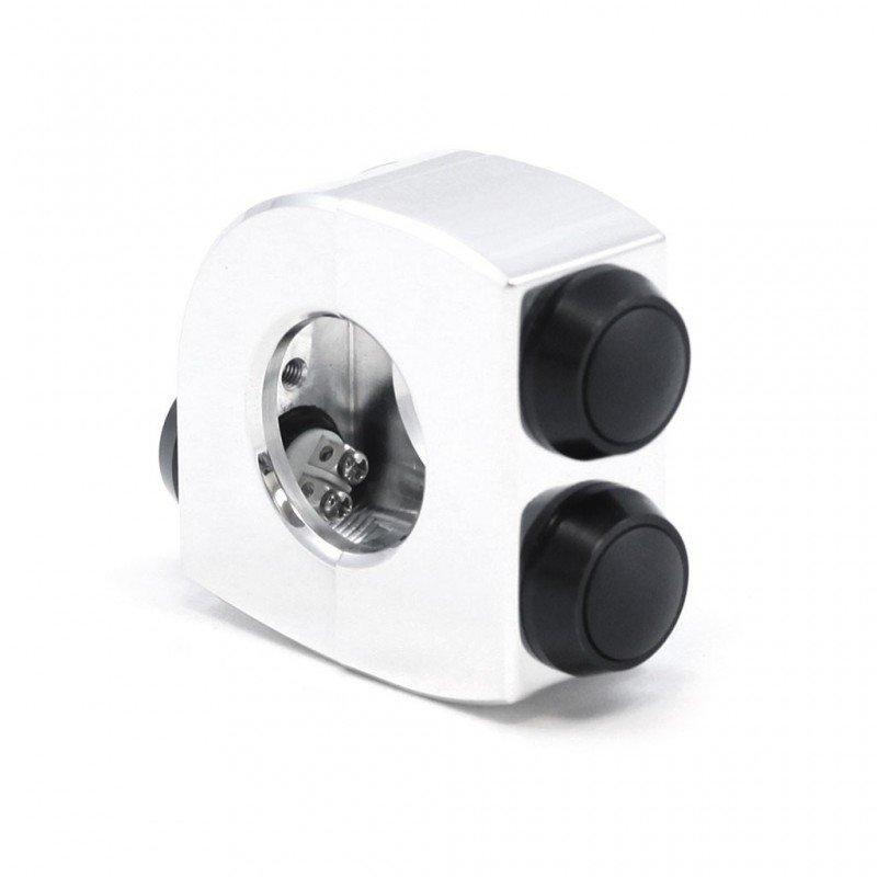 COMMODO MOTOGAGET NOIR M-SWITCH 25.4mm