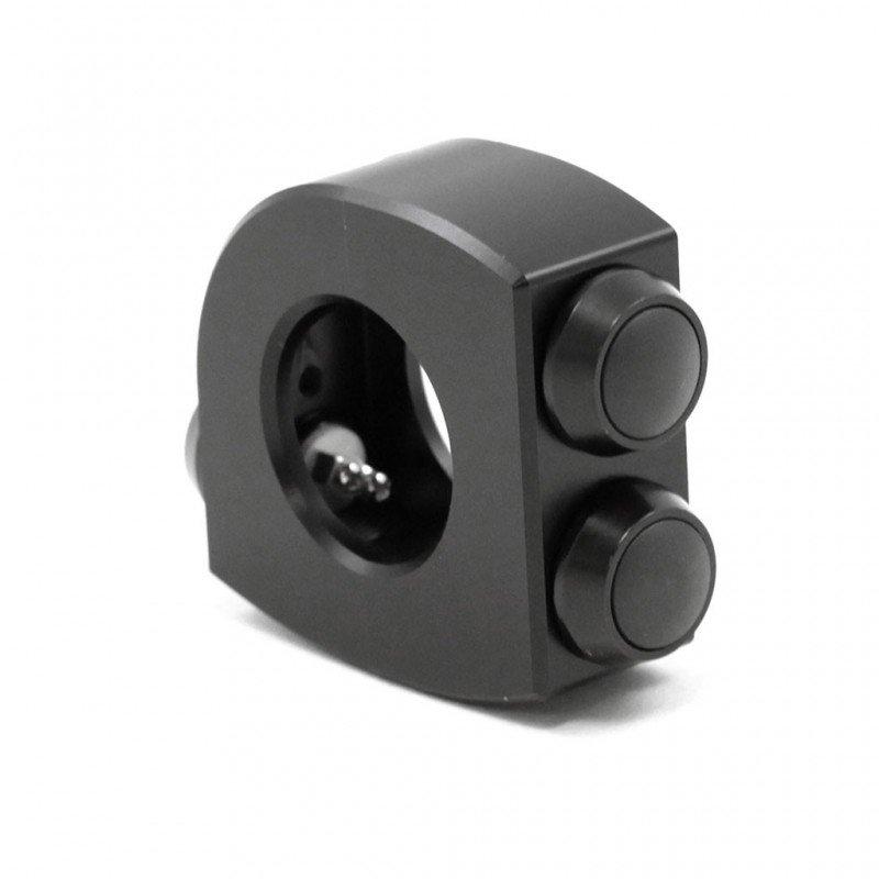 COMMODO MOTOGAGET NOIR M-SWITCH 2 bouton diamètre 22mm
