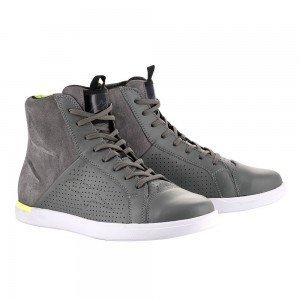Baskets Jam Air Alpinestars grise / vert fluo
