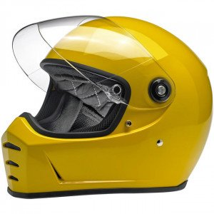 CASQUE BILTWELL LANE SPLITTER SAFE-T YELLOW