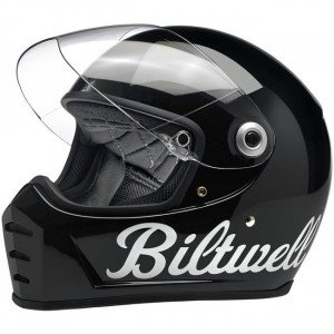 CASQUE BILTWELL LANE SPLITTER GLOSS BLACK FACTORY