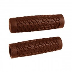 "VANS X CULT V-TWIN GRIPS MARRON PAR ODI 1""(25.4mm)"