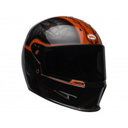 Casque BELL Eliminator Outlaw Gloss Black/Red