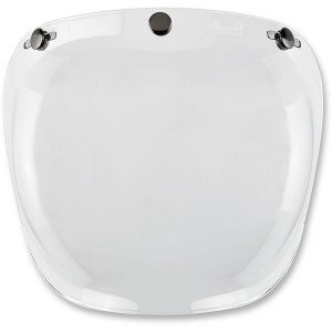 VISIERE BULLE  BILTWELL POLYCARBONATE ANTI BUEE INCOLORE
