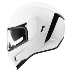 CASQUE INTEGRAL  ICON AIRFORM GLOSS BLANC