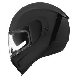 CASQUE INTEGRAL  ICON AIRFORM RUBATONE  NOIR