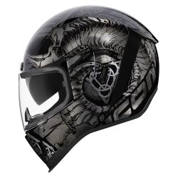 CASQUE INTEGRAL  ICON AIRFORM SACROSANCT NOIR
