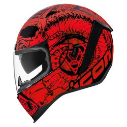 CASQUE INTEGRAL  ICON AIRFORM SACROSANCT ROUGE
