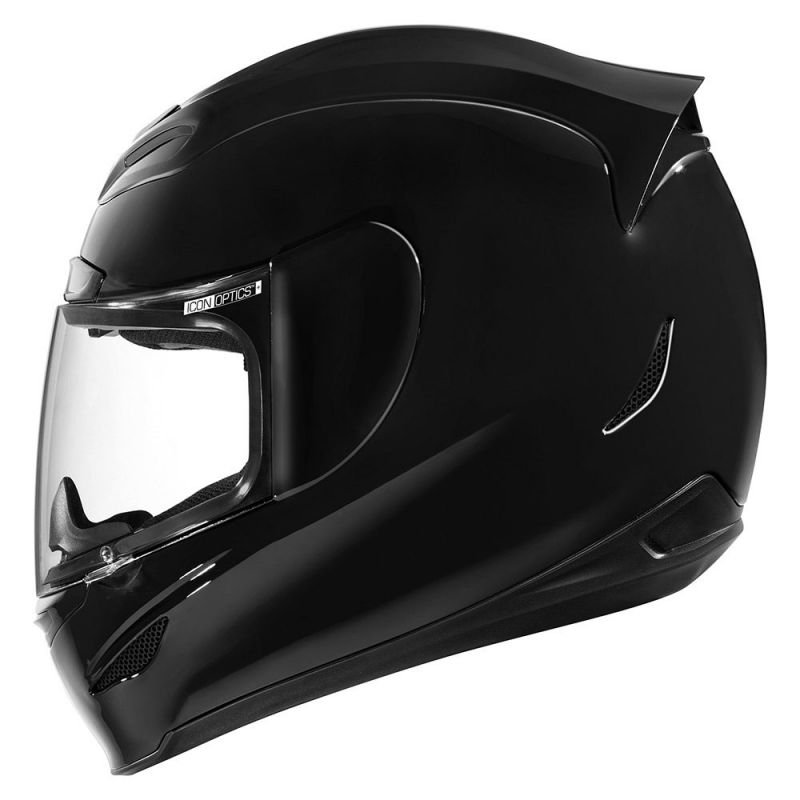 CASQUE INTEGRAL  ICON AIRMADA GLOSS NOIR