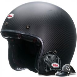 CASQUE BELL CUSTOM 500 CARBON MATT