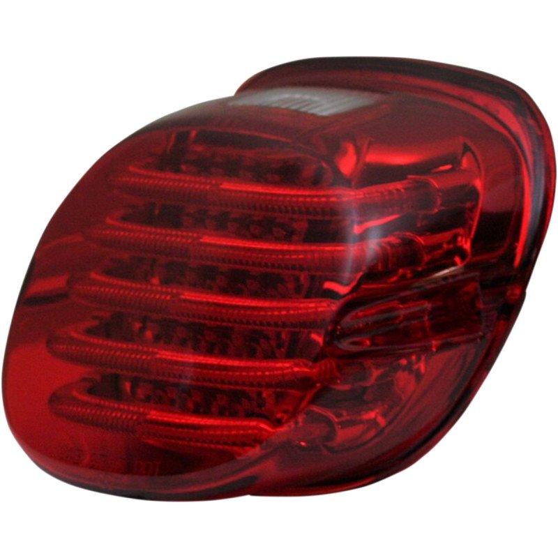 Feux arrière à profil bas à LED avec éclairage de plaque