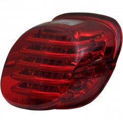 Feux arrière à profil bas à LED sans éclairage de plaque