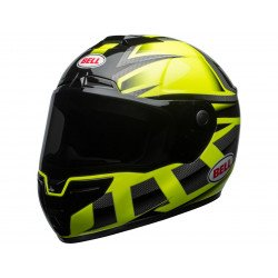 Casque BELL SRT Gloss HI-VIZ Green/Black Predator