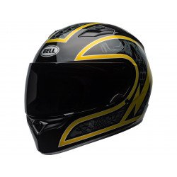 Casque BELL Qualifier Scorch Gloss Black/Gold Flake