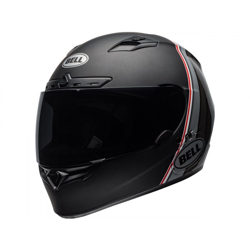 Casque BELL Qualifier DLX Mips Illusion Matte/Gloss Black/Silver/White