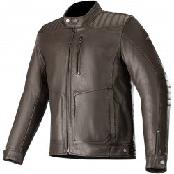 BLOUSON CRAZY EIGHT ALPINESTARS MARRON