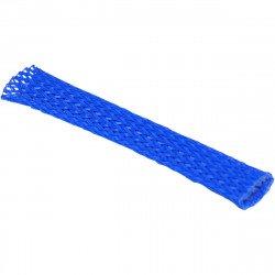 Gaine flexible  de faisceau de câbles de 10 mm BLEUE