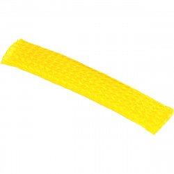 Gaine flexible  de faisceau de câbles de 10 mm JAUNE