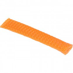 Gaine flexible  de faisceau de câbles de 10 mm ORANGE
